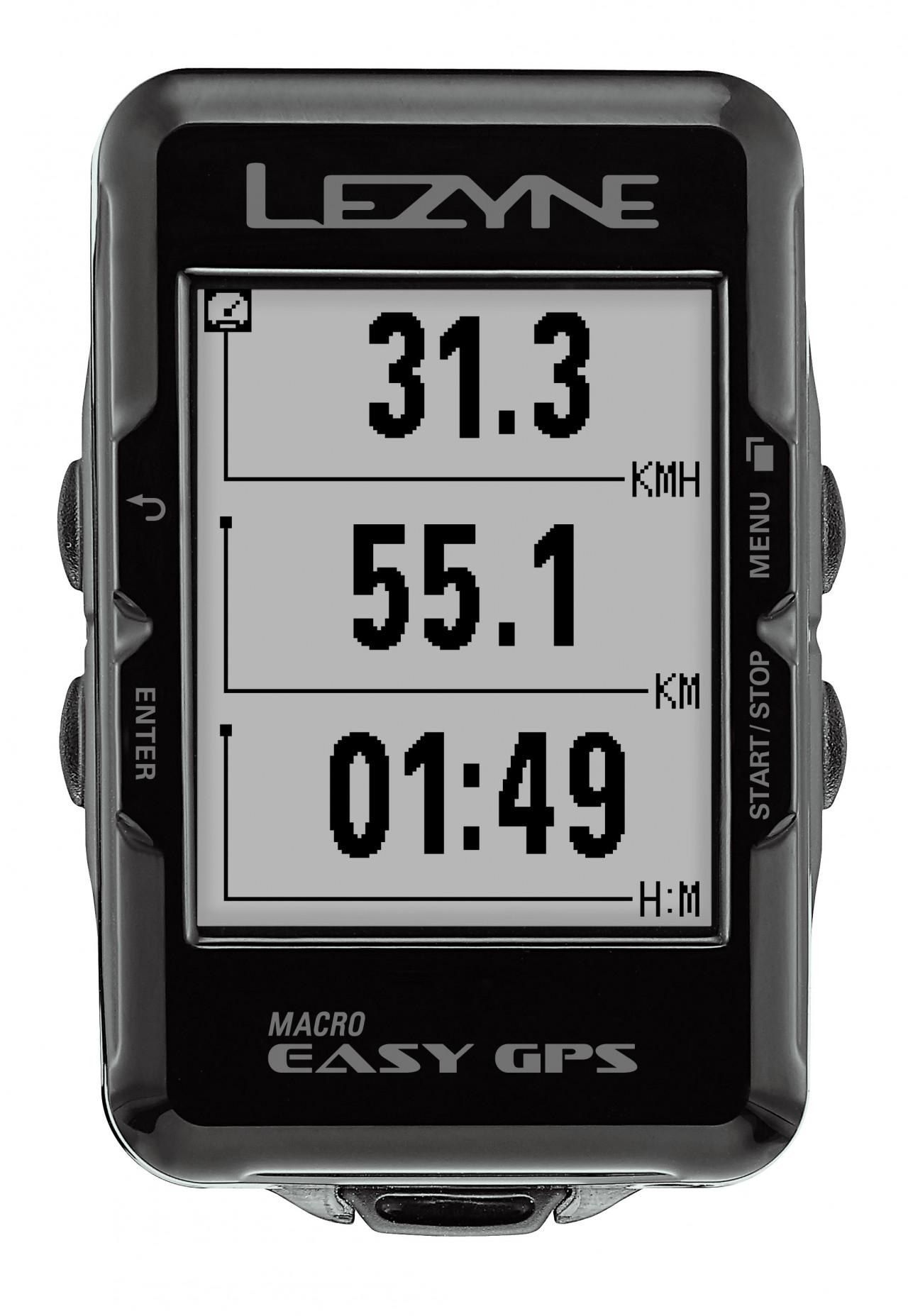 Lezyne cyklocomputer MACRO EASY GPS