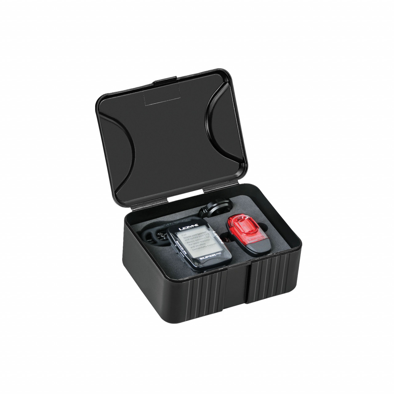 Lezyne cyklocomputer SUPER PRO GPS SMART LOADED