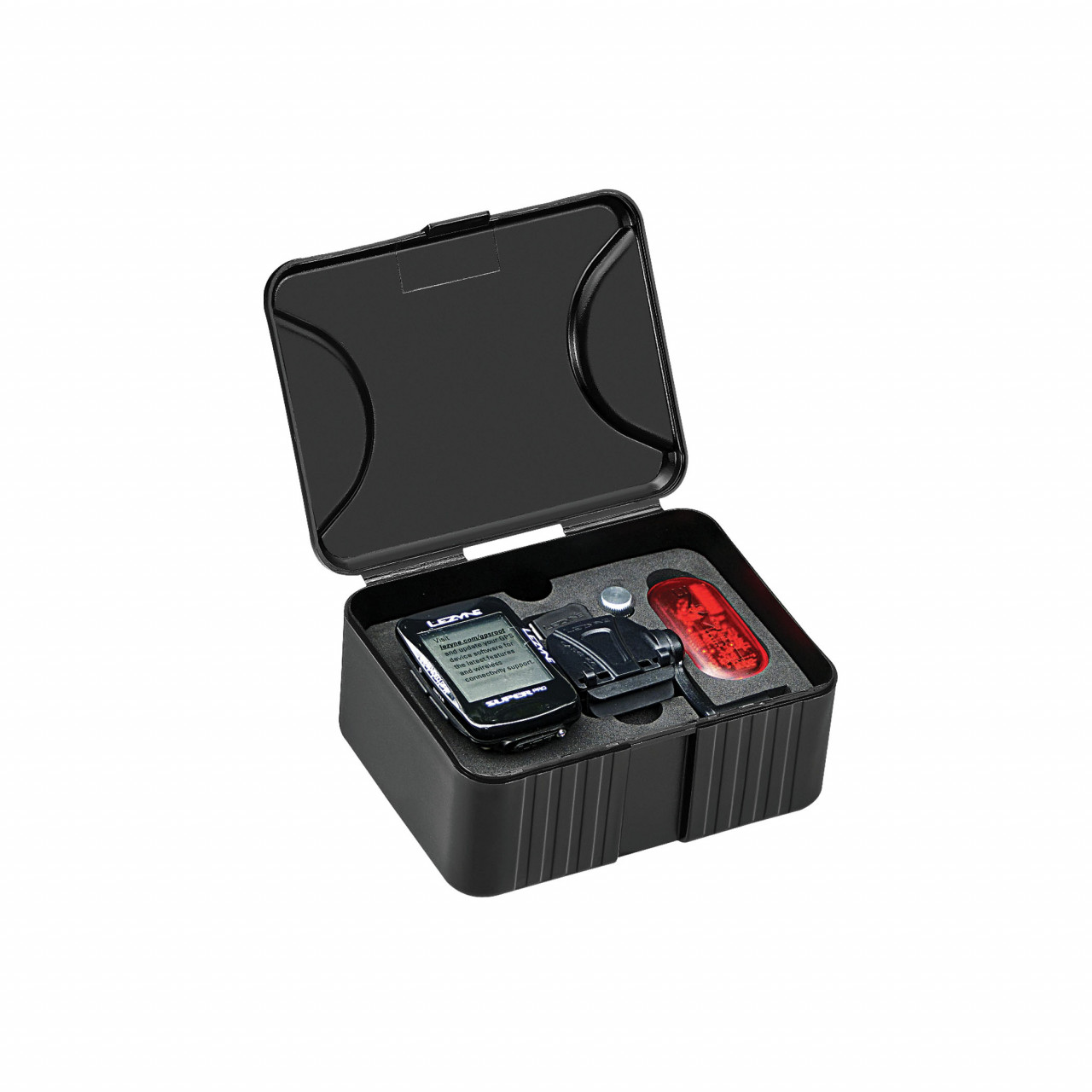 Lezyne cyklocomputer SUPER PRO GPS HR/ProSC LOADED