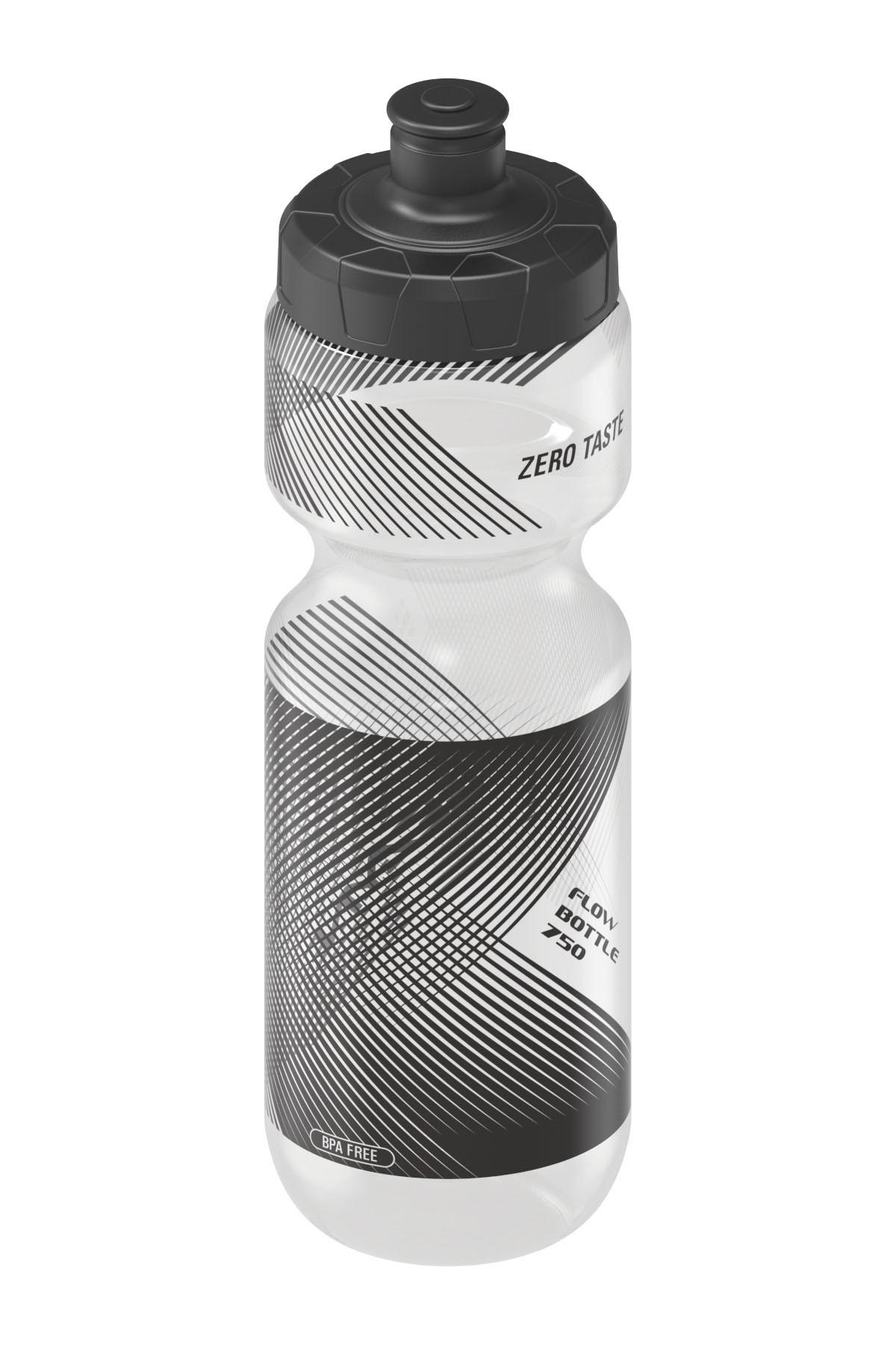 Lezyne cyklofľaša Flow Bottle biela 750 ml, matná, priehľadná