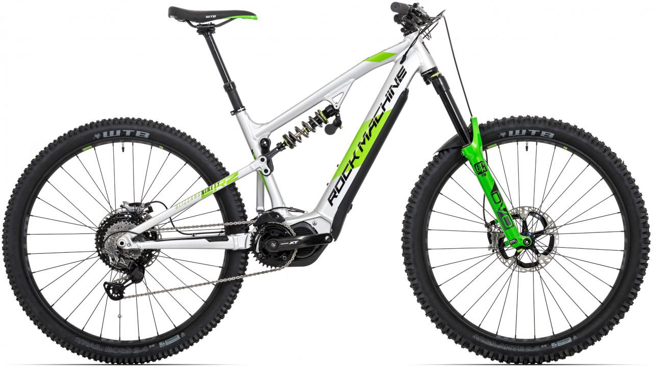 "Rock Machine Blizzard INT2 e90-29 RZ, model 2020, strieborná/DVO zelená/čierna 19"" (L)"