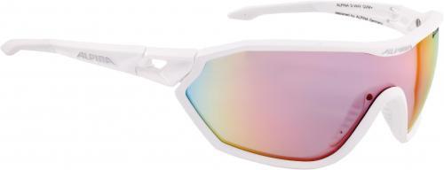 ALPINA Okuliare S-WAY QVM+ biele matné