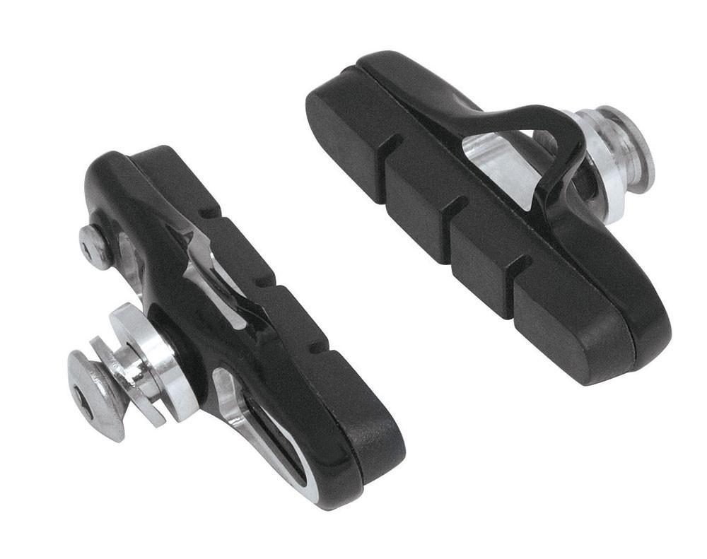 FORCE gumičky bŕzd, cestné výmenné CNC, čierne 55mm