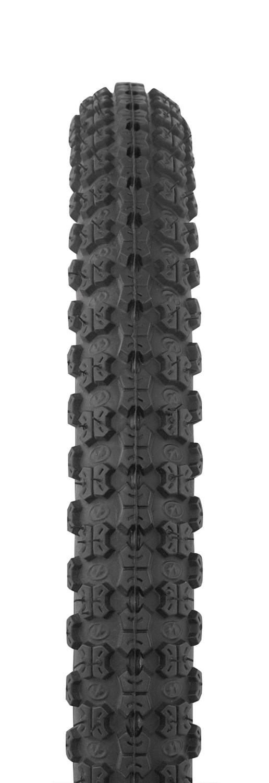 FORCE plášť 16 x 1,75, IA-2101, drôtový, čierny