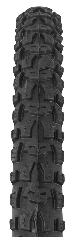 FORCE plášť 24 x 1,75, HV-5002, drôtový, čierny