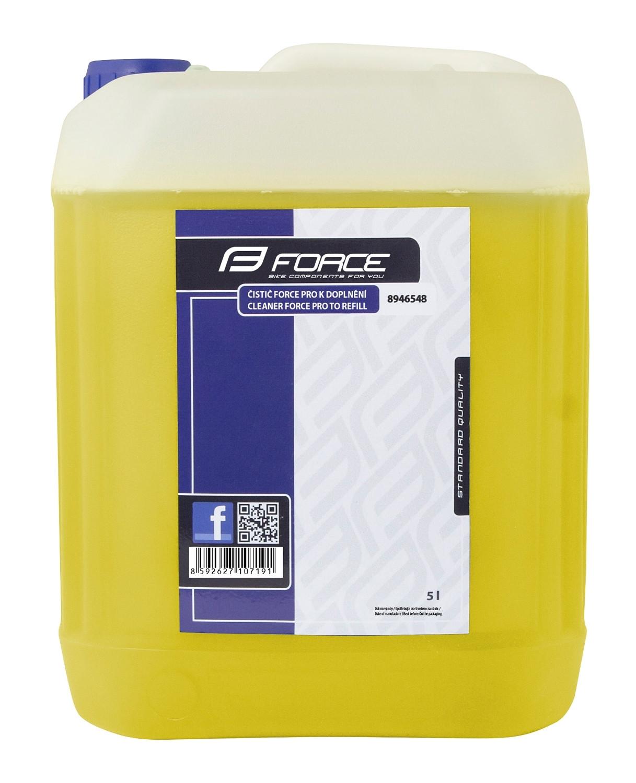FORCE čistič PRO na doplnenie - 5l - žltý EXTRA