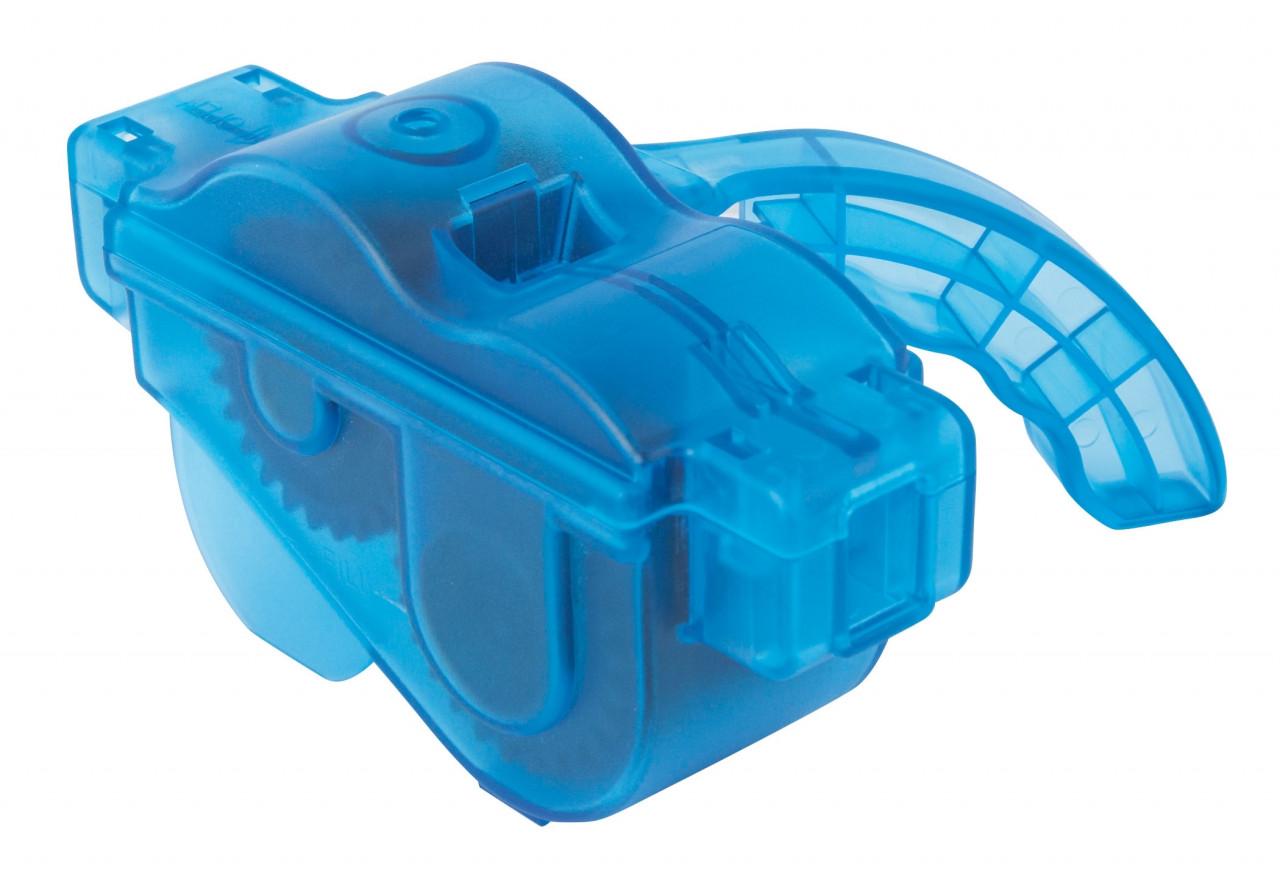 FORCE čistička reťazí ECO plastová, s rukoväťou, modrá