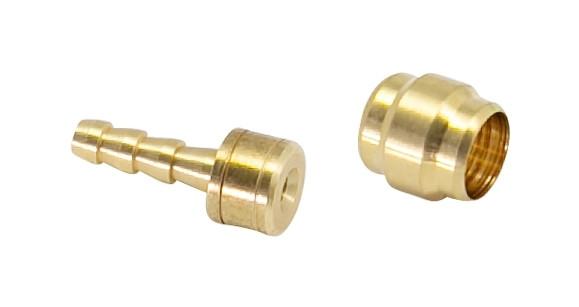 FORCE koncovky 2,1mm a olivy 5mm pre AVID / SRAM, 10 + 10ks