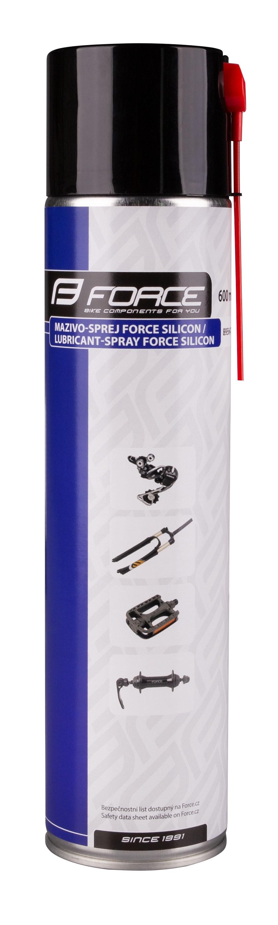 FORCE mazivo-sprej dielenský, Silicon 600ml