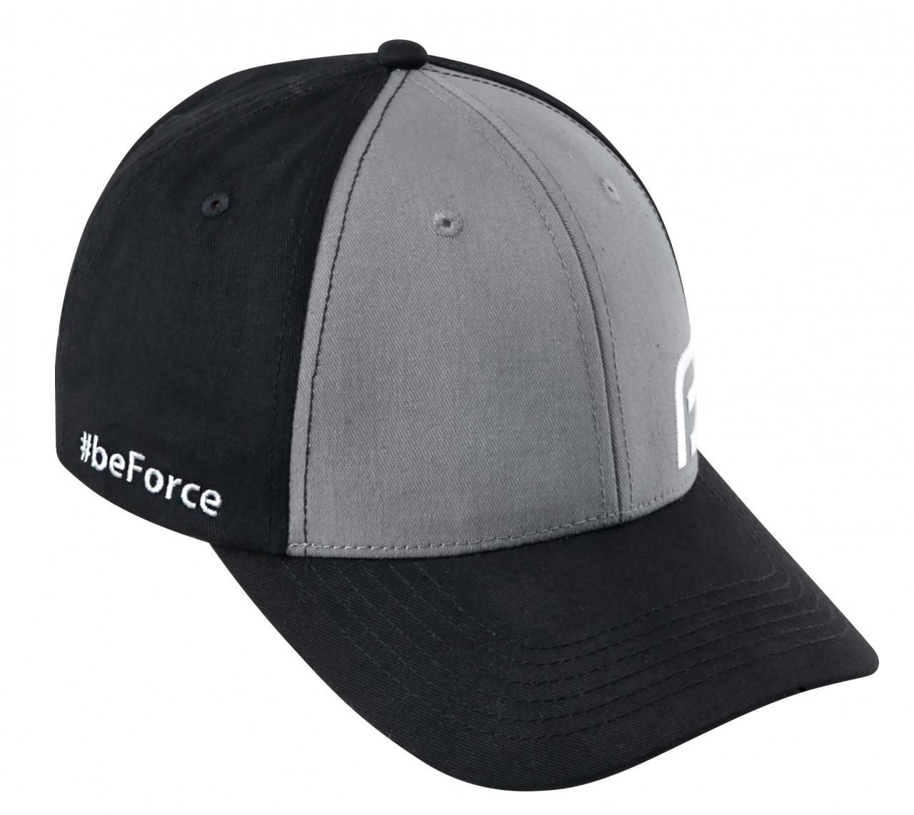 FORCE šiltovka BE, čierno-šedá