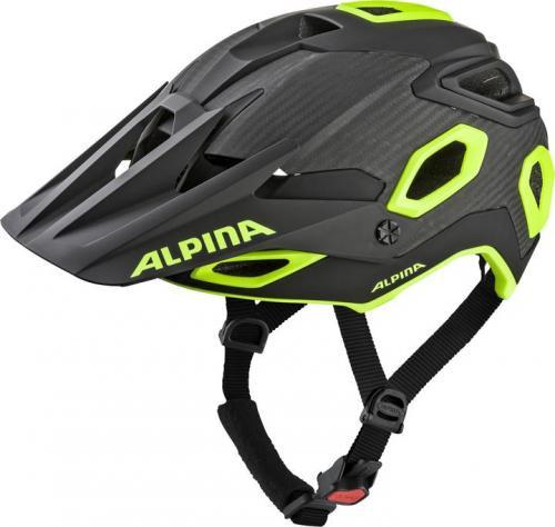 ALPINA Cyklistická enduro prilba Rootage čierno-neón žltá Veľkosť : M