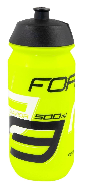 FORCE fľaša SAVIOR 0,5 l, fluo-čierno-biela