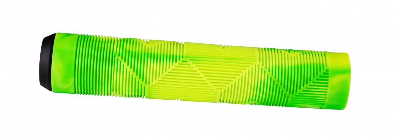 FORCE madlá BMX145 gumové, zeleno-žlté, balené