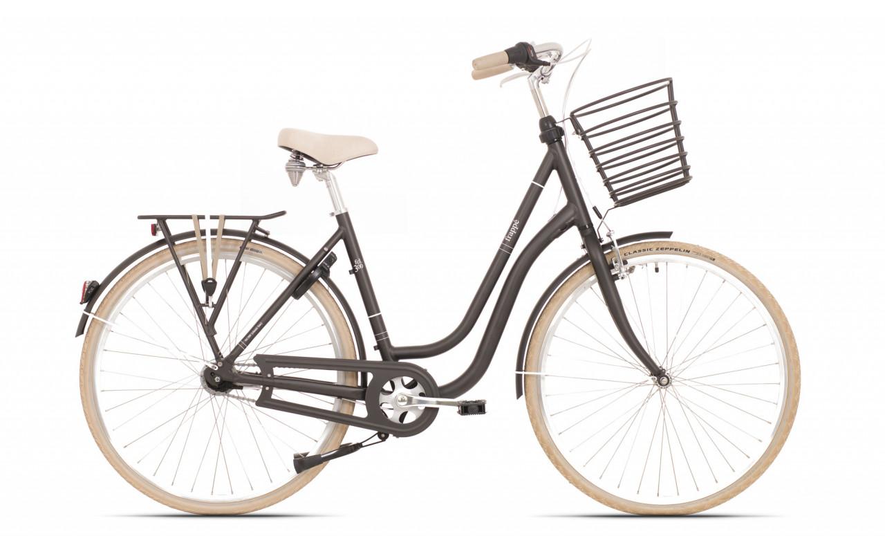 Rock Machine Bicykel Frappé FCL 300 matná čierna 54 cm