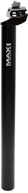 MAX1 sedlovka Al 30,9/400 mm čierna