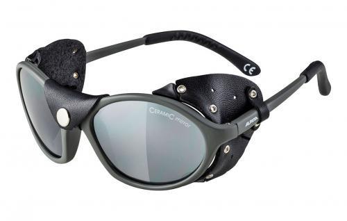 ALPINA Ľadovcové okuliare SIBIRIA titan mat-čierna sklá: čierne mirror S4