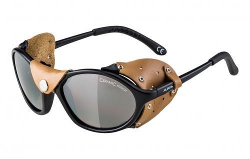 ALPINA Ľadovcové okuliare SIBIRIA čierno-hnedé sklá: hnedé mirror S4