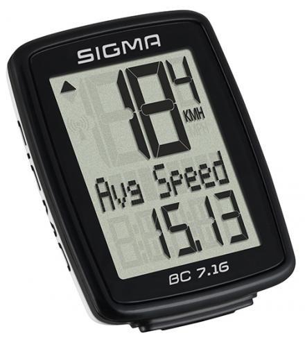 SIGMA Cyklocomputer BC 7.16 Topline 016