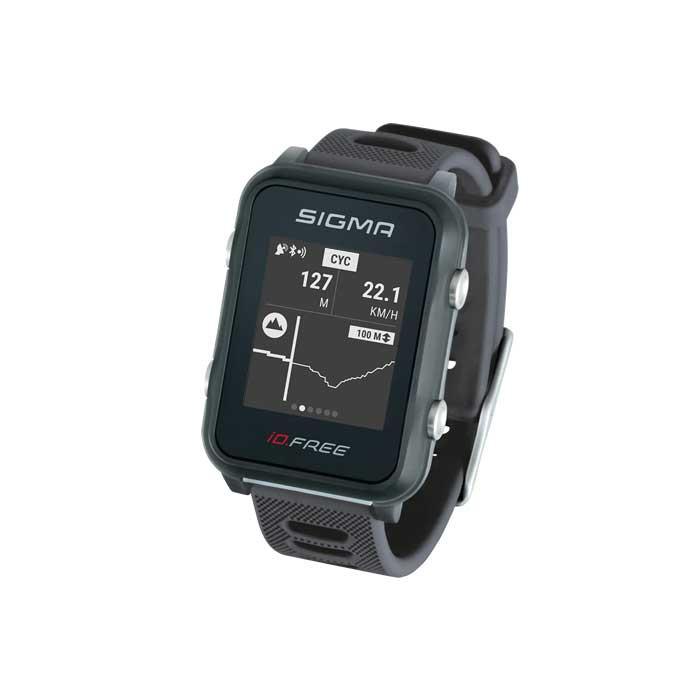 SIGMA Športové hodinky - pulzmeter iD.FREE šedý / grey