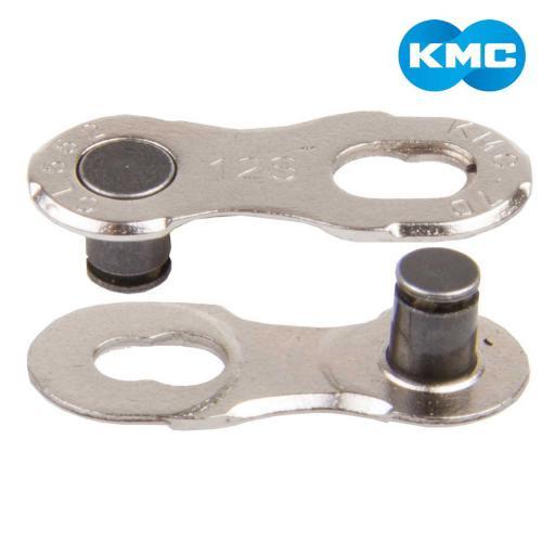 KMC Spájací článok na 9sp. reťaz - 2 ks na karte 9R Silver EPT, 1/2 x 11/128, 6,6mm