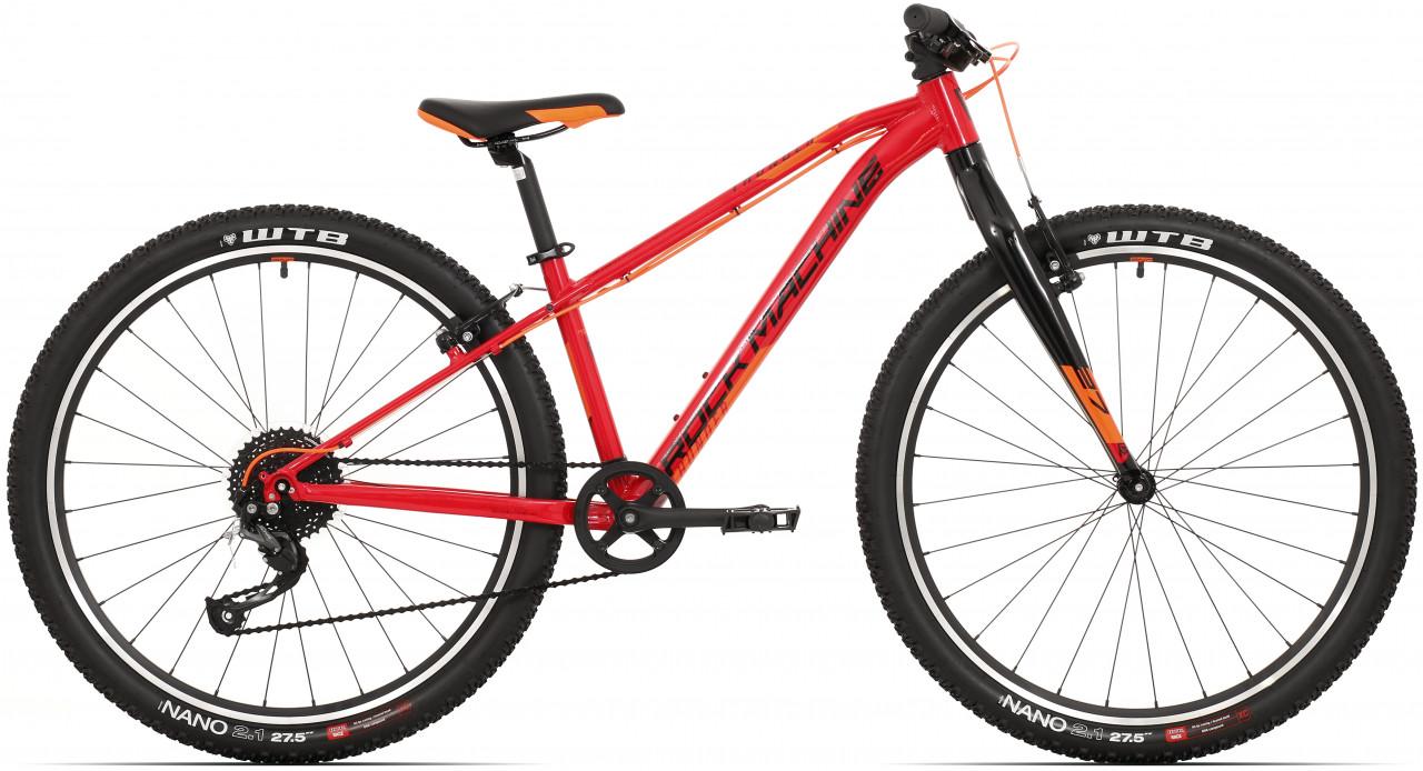 "Rock Machine Thunder 27 VB, model 2021, červená/čierna/oranžová 15"" (S)"