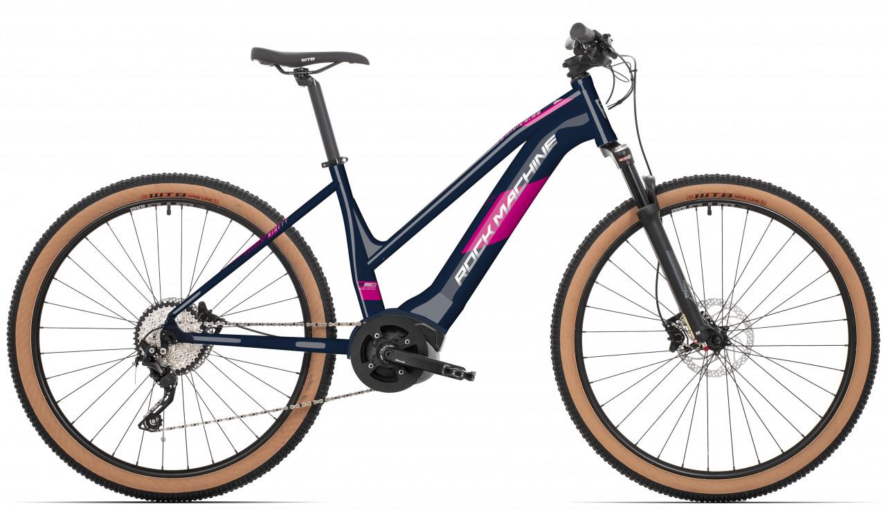 "Rock Machine Torrent INT e50-29B Lady, model 2021, modrá/ružová/strieborná 15,5"" (S)"