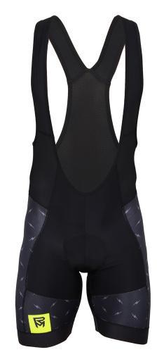 Rock Machine Cyklistické nohavice krátke RM XC FLASH s trakmi Veľkosť : S, čierne