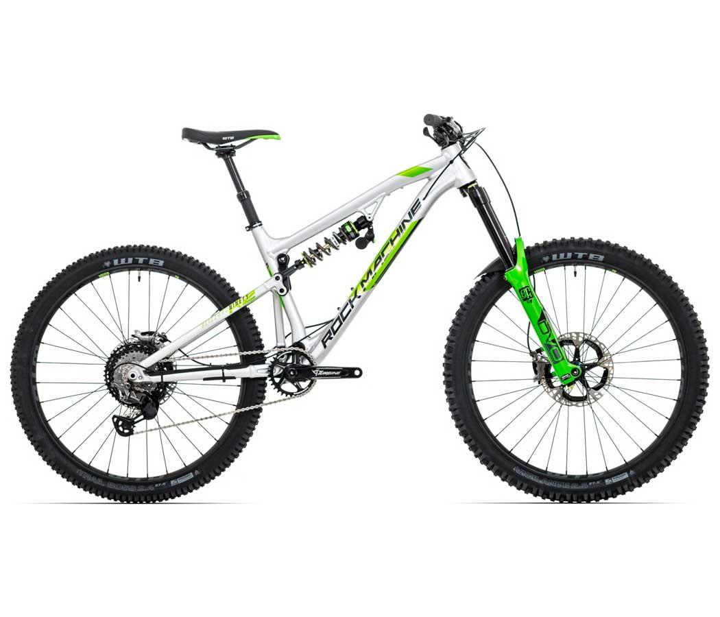 """Rock Machine Blizzard 90-27 RZ, model 2020, strieborná/DVO zelená/čierna 21"""" (XL)"""