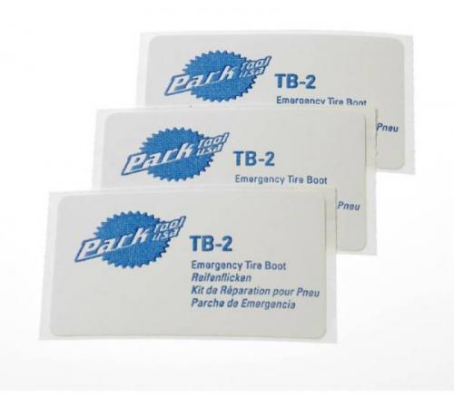 Park Tool Lepenie ParkTool Tire Boot - samolepiace záplaty na plášte, sada PT-TB-2