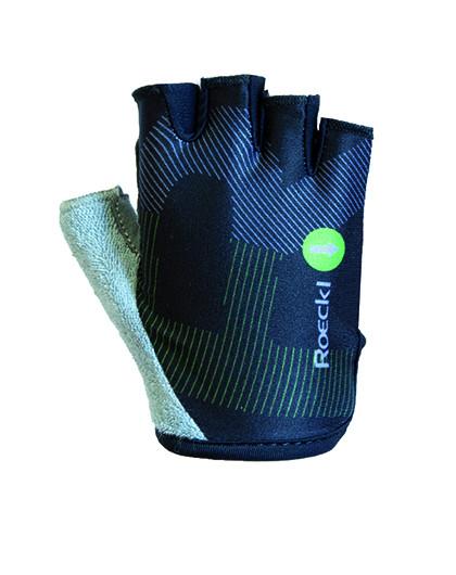 ROECKL Detské cyklistické rukavice Teo čierne Veľkosť : 4