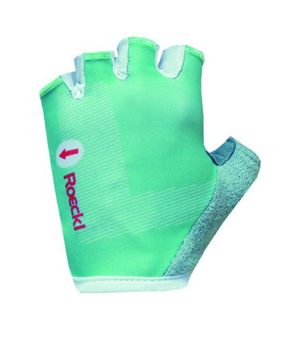 ROECKL Detské cyklistické rukavice Teo tyrkysové Veľkosť : 4