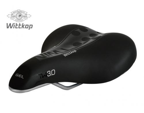 Wittkop Saddle TWIN 3.0 Gel City for city and e-bikes