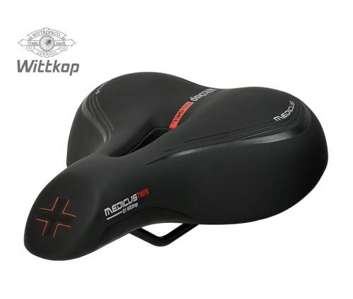 Wittkop Saddle TWIN Medicus 3.0 Gel City and e-bikes