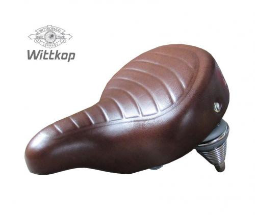 Wittkop Saddle California brown city and e-bikes