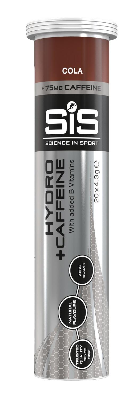 SiS GO Hydro tablety kola + kofeín 20x4g