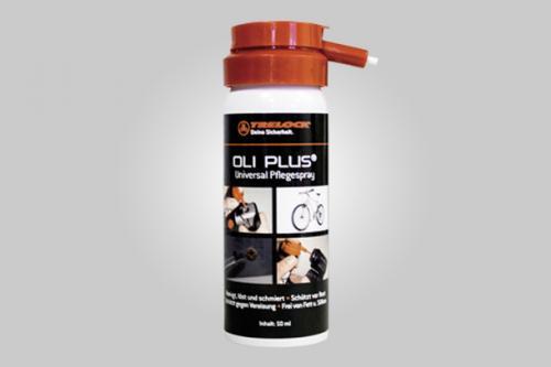 Zámok Trelock OLI PLUS Universal ochranný sprej 50 ml, na ošetrenie zámkov