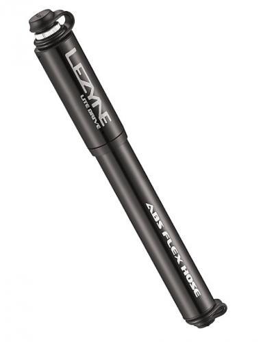 LEZYNE Minipumpa Lite Drive - S čierna lesklá, Veľkosť : S