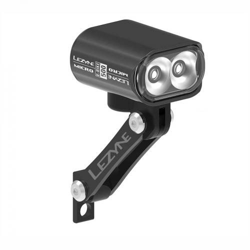 LEZYNE Predné svetlo na elektrobicykel MICRO DRIVE 500 LED
