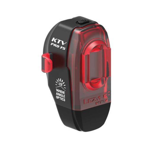 LEZYNE Zadné svetlo KTV DRIVE PRO čierne, 75 Lumenov, USB