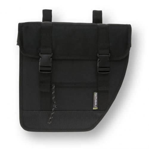 BASIL Taška na nosič TOUR XL - dvojitá čierna, cena za pár, 40 L