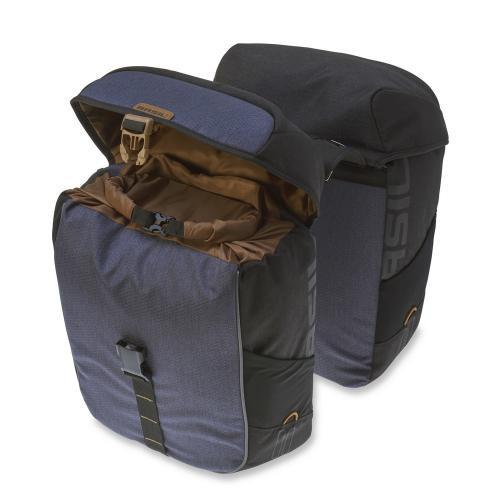 BASIL Taška na nosič MILES DOUBLE BAG vodotesná, 32 L