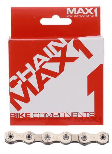 MAX1 Reťaz na bicykel  - 12 speed, 126L strieborná, 126 článkov