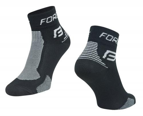FORCE Ponožky 1 čierno-šedé XXL/48-49
