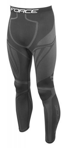 FORCE Nohavice/funkčné prádlo FROST čierne S-M
