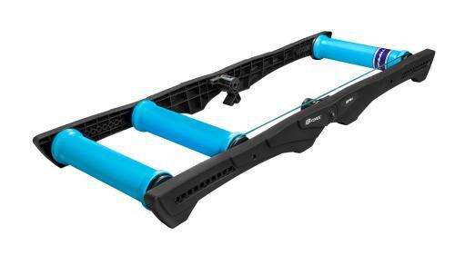 FORCE cyklotrenažér SPIN valcový, plast, čierno-modrý