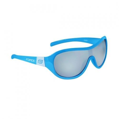 FORCE okuliare POKEY, detské, čierne sklá, modro-biele