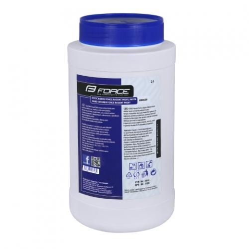 FORCE čistič rúk RASANT PROFI, pasta, 2 litre
