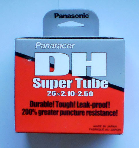 PANARACER Duša Super Tube DH 26x2,10/2,50 FV downhill, galus.ventil, 48 mm
