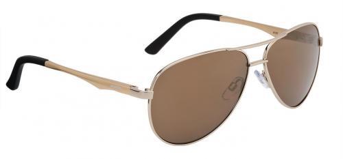 ALPINA Okuliare A 107 zlaté, sklá: zlaté zrkadlové