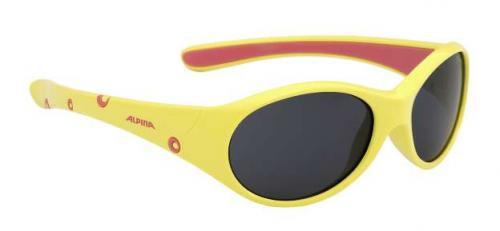 ALPINA Detské okuliare FLEXXY GIRL žlto-ružová